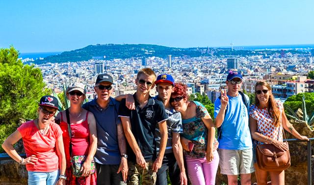 Séjour adapté - Groupe - Barcelone - Étranger - Déficience intellectuelle - Handicap mental - Amis - Famille - ES'TEAM Voyages